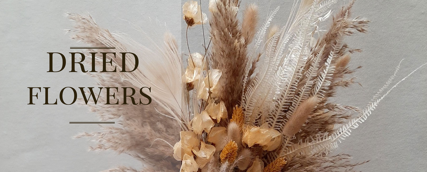 Wauw events - dried flowers